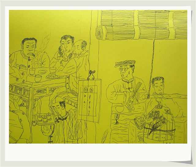秀秀宝贝儿子最近的绘画习作 - 深秋 - 深秋的故事的博客