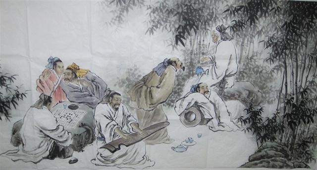 悠悠人生——观百家讲坛《竹林七贤》有感 - 深秋 - 深秋的故事的博客