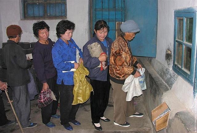 晒晒朝鲜的计划经济粮店(图) - 秦全耀 - 秦全耀的博客
